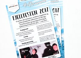 Plakat for Fjellfesten 2017
