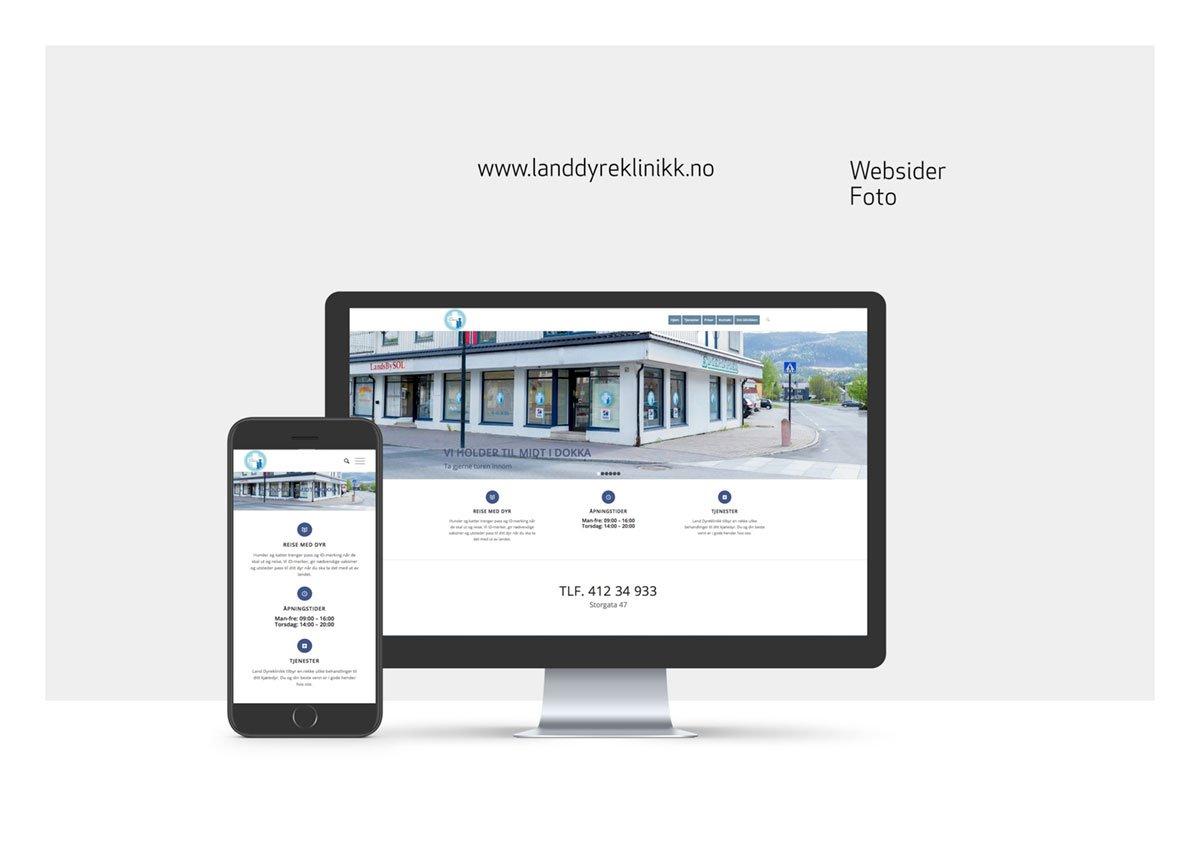 Websider for Land Dyreklinikk