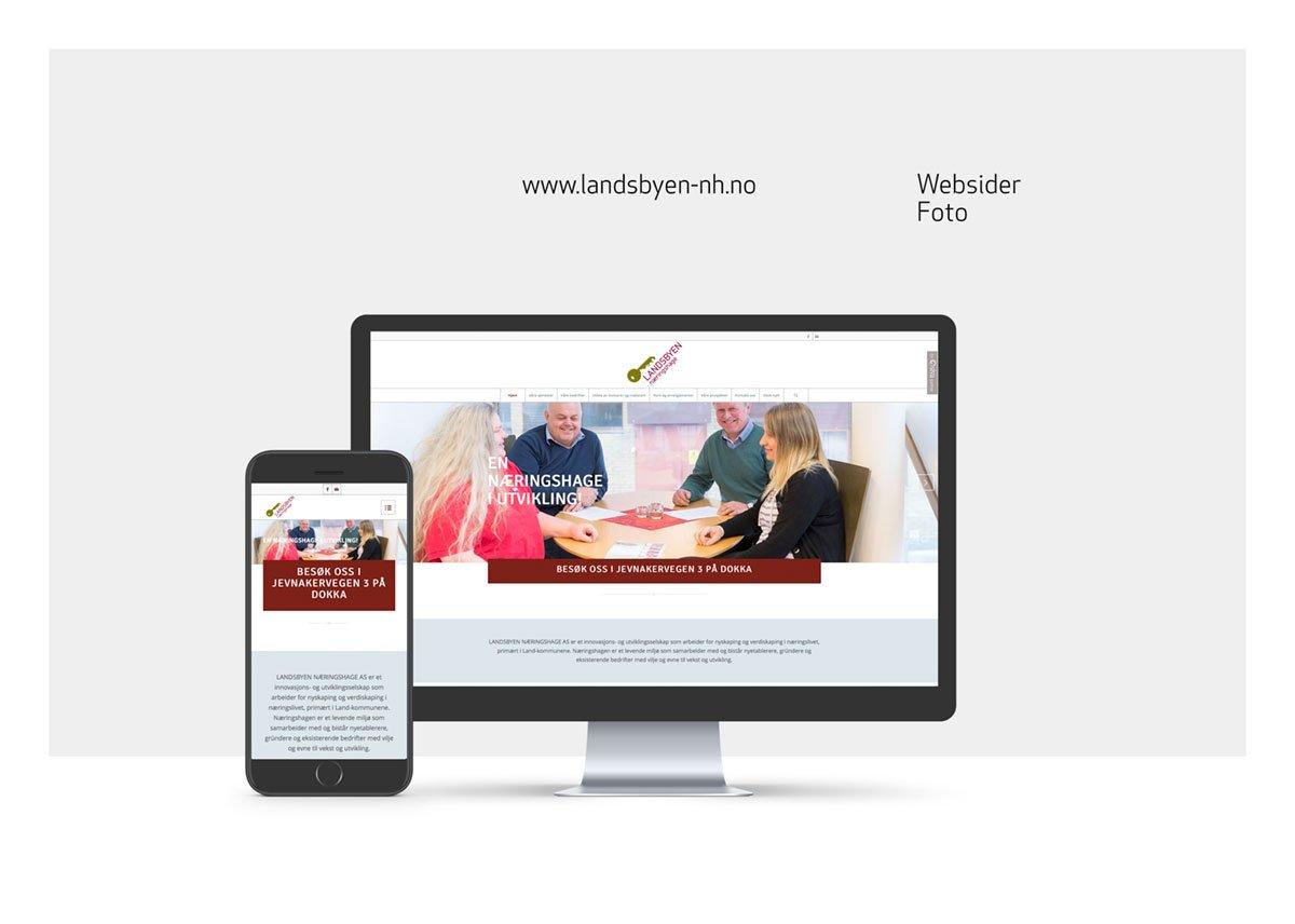 websider for Landsbyen Næringshage