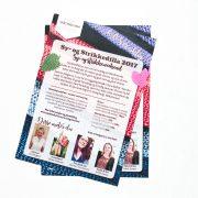 Plakater for sy- og strikkedilla