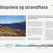 Leka skilt og Trollfjell Geopark